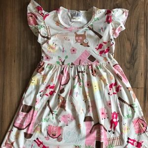 Other - New boutique farm animal print country girl DRESS